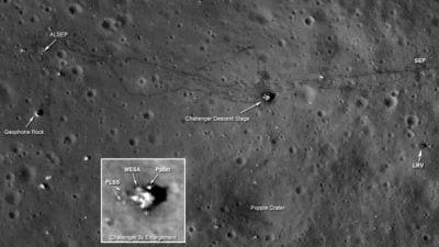 NASA acredita ter encontrado as bandeiras deixadas pelas missões Apollo a Lua