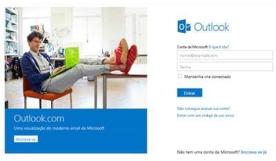 Outlook.com já conta com um milhão de usuários