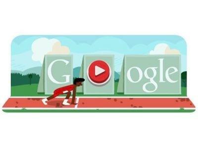 Google presta homenagem aos jogos olímpicos com o doodle do dia