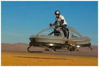 A Aerofex Corp apresenta a sua moto voadora, ao estilo Guerra nas Estrelas