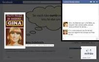 Gina Indelicada faz sucesso no Facebook