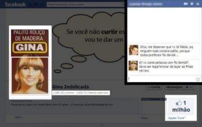 Após sucesso no Facebook, Gina quer licenciar marca