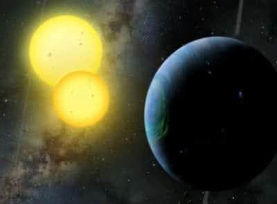 Descoberto o primeiro sistema circubin�rio e multiplanet�rio