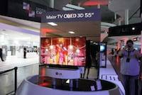 LG apresenta sua mais nova HDTV OLED 55 3D