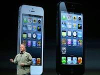 Apple apresenta o seu iPhone 5