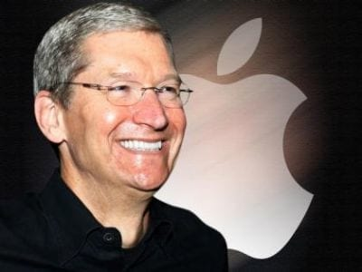 Tim Cook é o executivo bem mais pago dos EUA