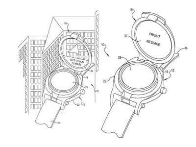 Google patenteia óculos de realidade aumentada