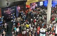Brasil Game Show recebe uma multidão de pessoas