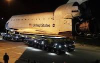 Nave espacial Endeavour vira peça de museu nos EUA
