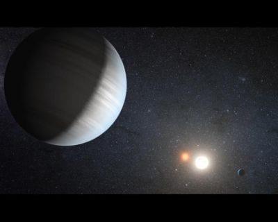 Cientistas americanos descobrem um novo planeta com quatro sóis