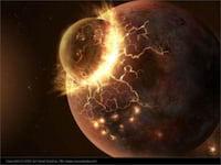 Lua pode ter sido formada da Terra