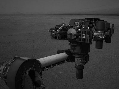Curiosity descobre partículas brilhantes em Marte