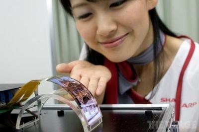 Sharp aumenta produção de telas IGZO