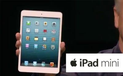 Apple lança o iPad Mini