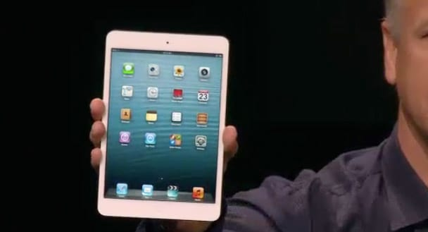 Apple lança o iPad Mini