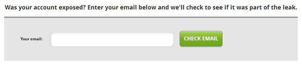 Como saber se alguma senha minha vazou na internet?