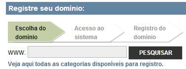 Como registrar domínios .com e .com.br?