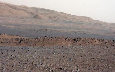 Robô Curiosity encontrou minerais em Marte parecidos com os de vulcões do Havai
