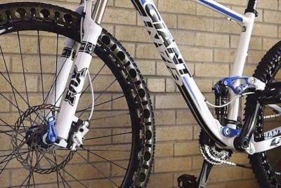 Empresa norte-americana apresenta pneus à prova de furos
