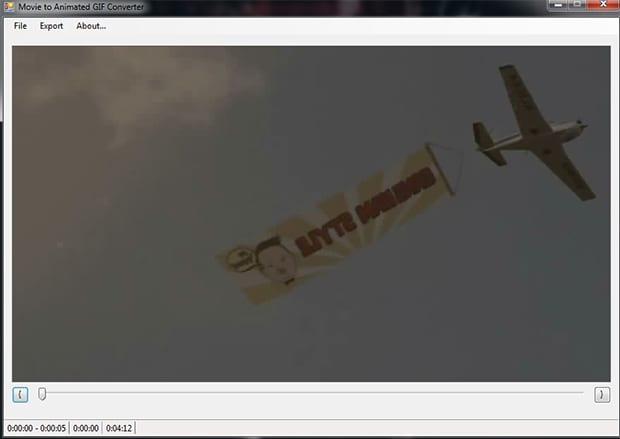 Transformando vídeos em GIFs animados