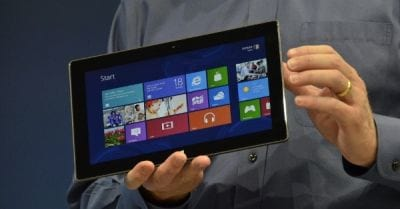 Surface, da Microsoft,  rende mais lucro do que iPad