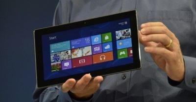 Surface, da Microsoft,  rende mais lucro do que iPad