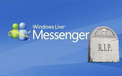 Windows Live Messenger chega ao fim