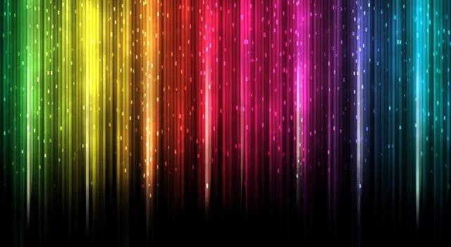 As qualidades das cores dominantes nos websites comuns