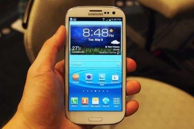 Samsung libera nova atualização para o Galaxy S3