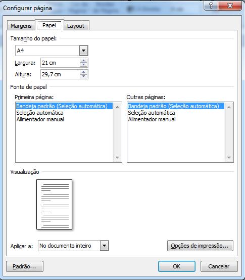 Como configurar margens de acordo com a ABNT no Word?