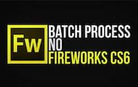 [vídeo] Modificando imagens em lote com Batch Process no Fireworks CS6