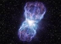 Supertelescópio óptico VLT registra a maior ejeção de matéria registrada em um buraco negro