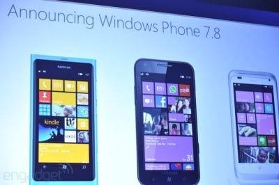 Microsoft anunciou o Windows Phone 7.8 para 2013