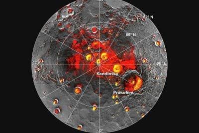 Gelo é encontrado em Mercúrio pela Nasa