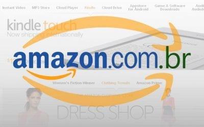 Loja Virtual da Amazon chega ao Brasil
