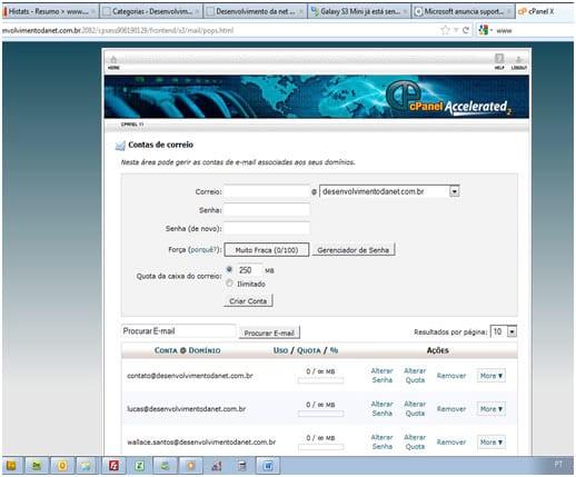 Como configurar o Outlook 2010?