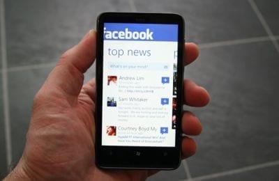 Facebook para Windows Phone 8 está mais rápido após atualização