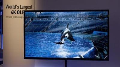 CES 2013: Panasonic anuncia TV de OLED de 56 polegadas com 4k de resolução