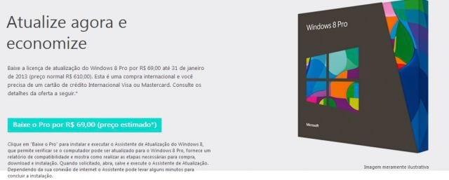 Migrar para o Windows 8 ficará mais caro em fevereiro