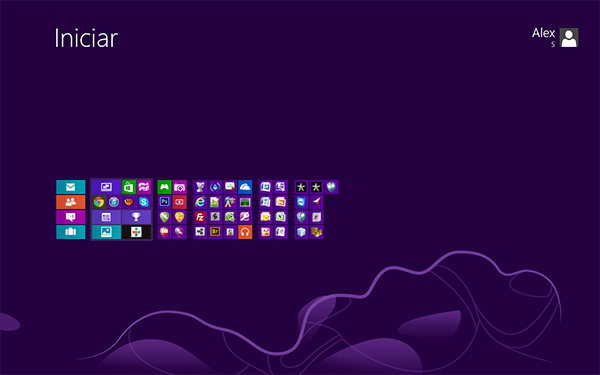Como criar grupos de Apps no Windows 8?