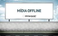 O que está acontecendo com a mídia offline?