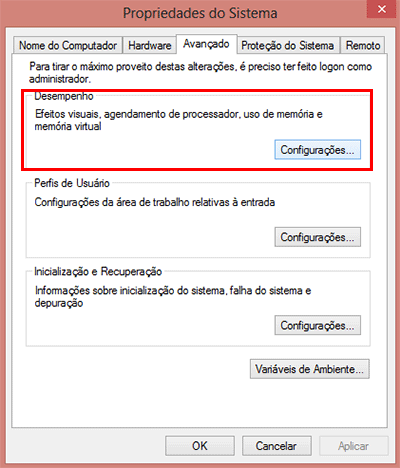 Como habilitar a sombra do mouse no Windows 10 e no Windows 8?