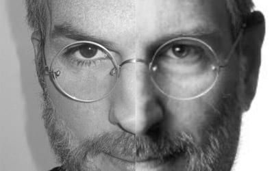 Ashton Kutcher posta foto em aparência de Jobs no Twitter