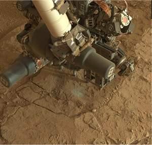Curiosity pronto para perfurar Marte