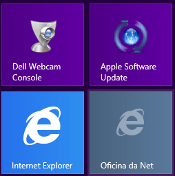 Como fixar um site na interface Metro