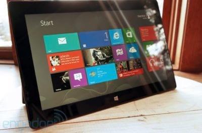 Estoque do Tablet Surface Pro de 128GB acaba em poucas horas