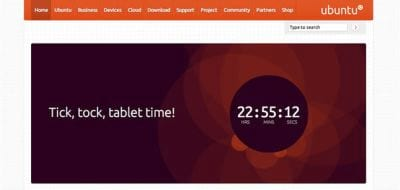 Ubuntu dever� estar dispon�vel em breve para tablets