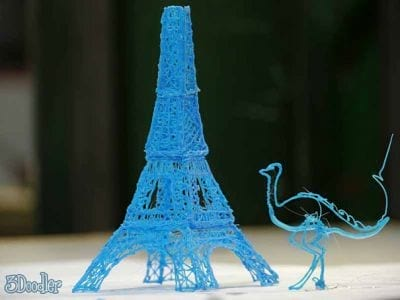 A primeira caneta que desenha em 3D
