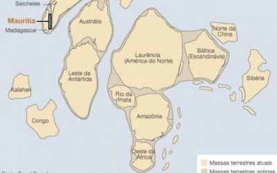 Fragmentos de continente antigo são encontrados sob o Oceano Índico