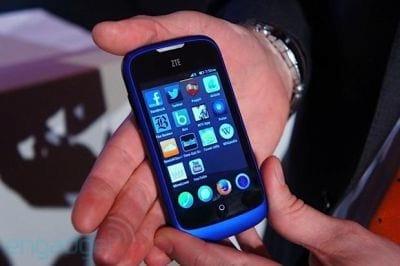 ZTE anuncia smartphone com o sistema operacional Firefox OS